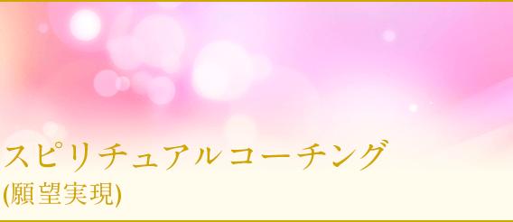 悩みが解決・スピリチュアルコーチング(願望実現)