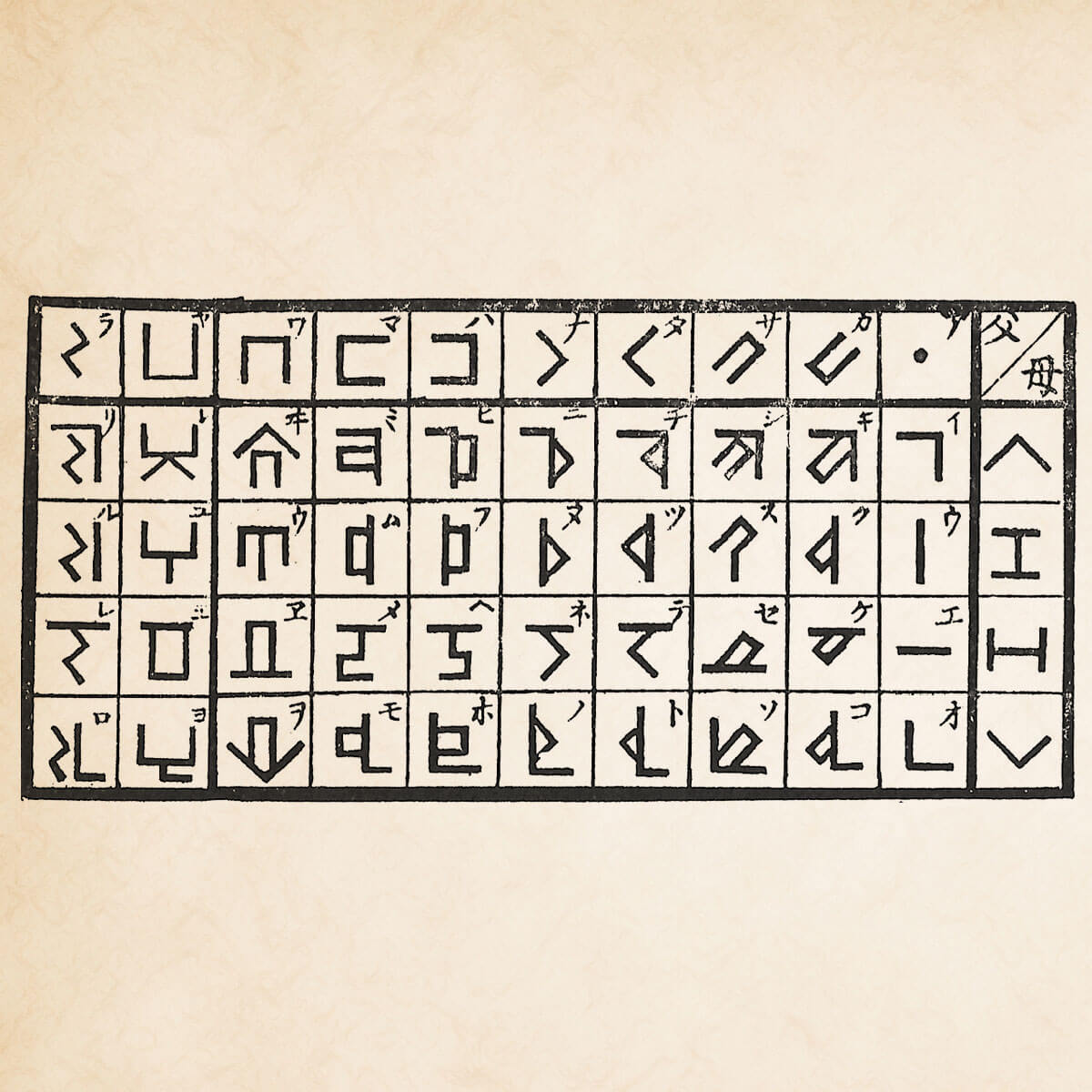 モリツネ文字