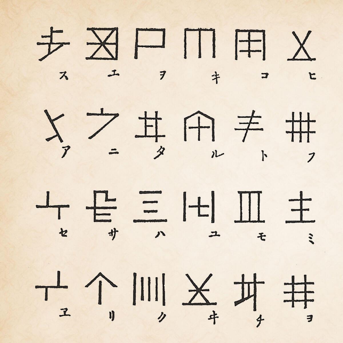 インベ文字